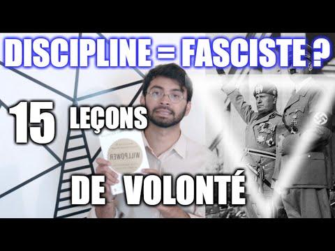 ∇ 15 leçons de discipline SIMPLES (& fascistes ???) - Willpower - 30 jours, 30 livres (Autodisciple)