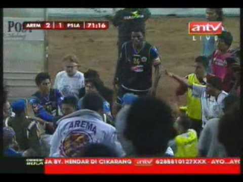 AIFC's Striker, Noh Alam Shah Red Card (Indonesia Super League)