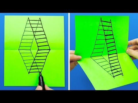 17 DRAWING TRICKS THAT WILL AMAZE YOUR FRIENDS