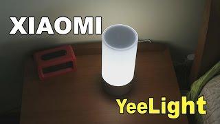 Xiaomi Yeelight, una lámpara de noche inteligente