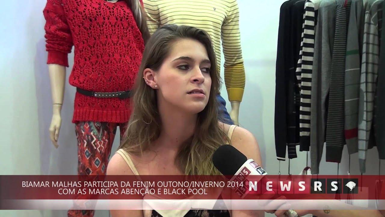 afa5922d1 News RS: Biamar Malhas apresenta as marcas Abenção e Black Pool na Fenim  Outono/Inverno 2014