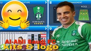 El Oluşturma-Uzman Suudi FC Takım Kitleri & Logo | 2019 Lig Futbol Rüya