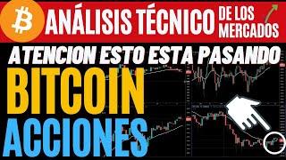 BITCOIN  Y  ACCIONES AMERICANAS CUIDADO CON ESTO!!!! ANÁLISIS TÉCNICO 6/16/21