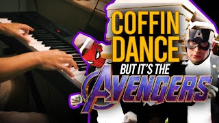 COFFIN DANCE but it's the AVENGERS...