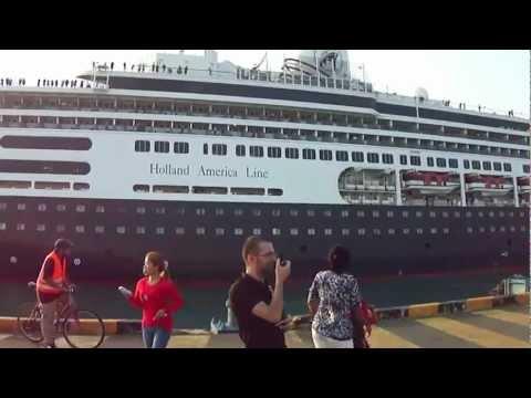 Cruise Ships visiting SihanoukVille, Cambodia.