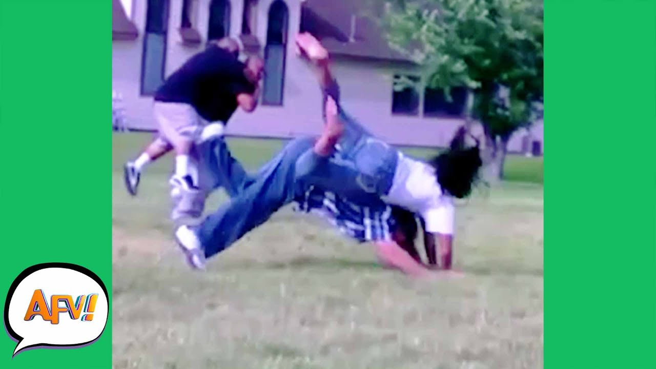 The Couple That TUMBLES Together FAILS Together   Funny Fails  AFV 2021