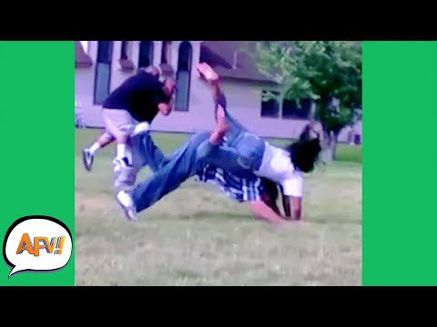 The Couple That TUMBLES Together, FAILS Together! 🤣 | Funny Fails | AFV 2021