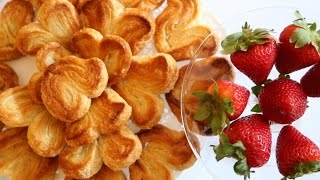How to Bake Palmiers - French Cookie Recipes  - Heghineh Cooking Show