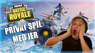 Spiller på min private fortnite server!