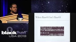 Black Hat 2013 - Exploiting Network Surveillance Cameras Like a Hollywood Hacker