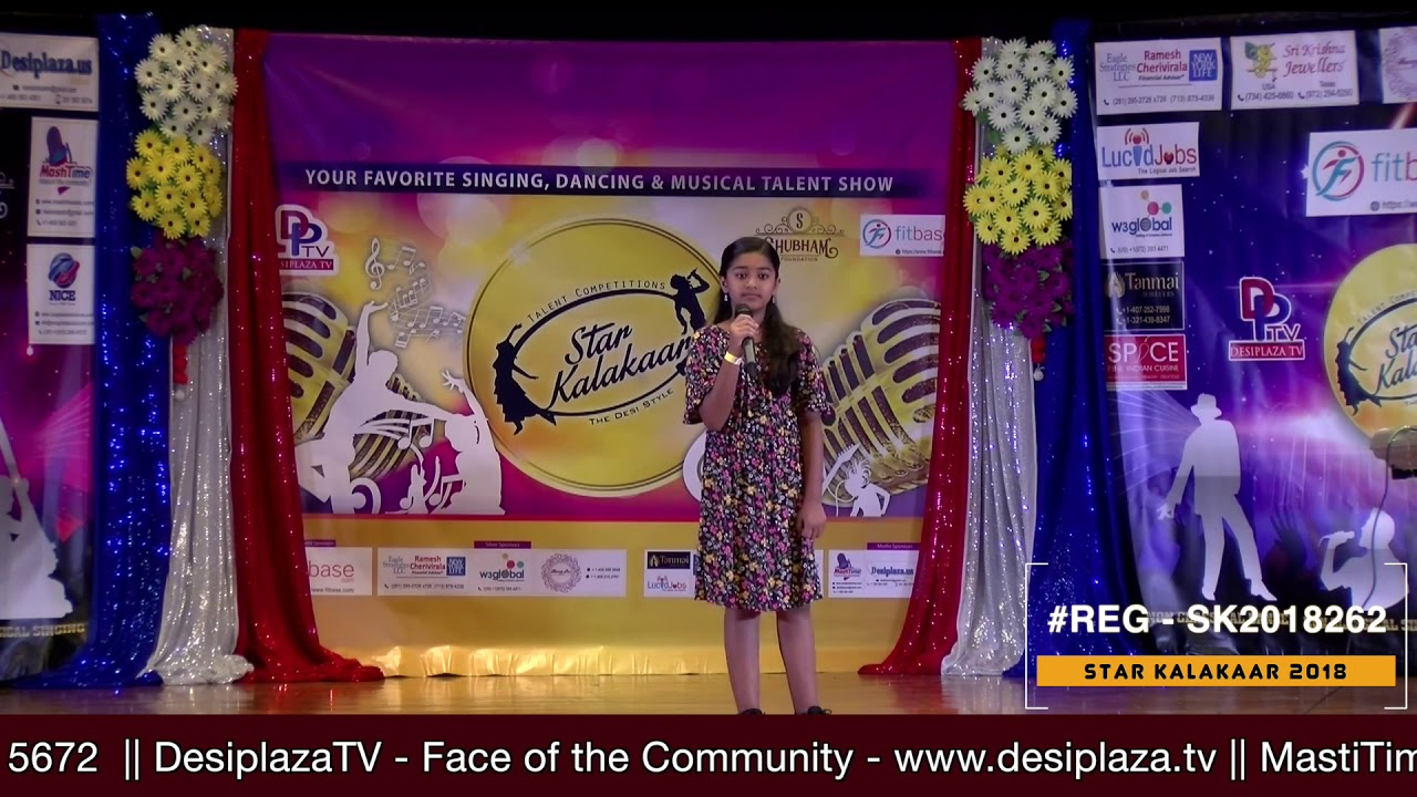 Registration NO - SK2018262 - Star Kalakaar 2018 Finals - Performance