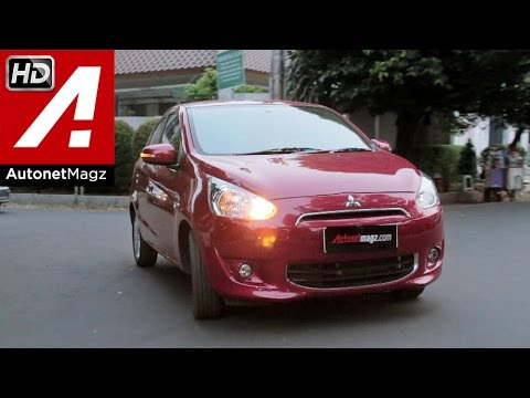 Test drive Mitsubishi Mirage facelift Indonesia 2015