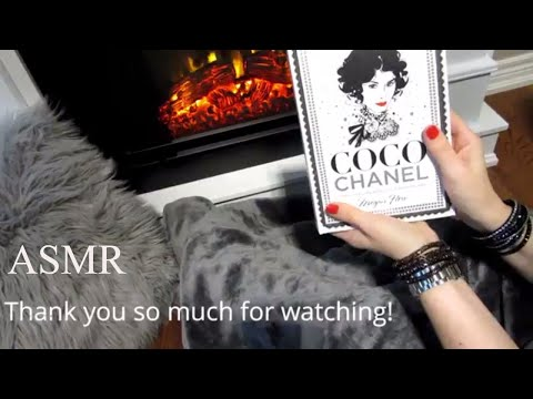 🎧 ASMR 📕 Page Turning Book 📕  Coco Chanel: The Illustrated World of a Fashion Icon By Megan Hess
