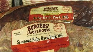 Burgers' Smokehouse Seasoned Baby Back Ribs