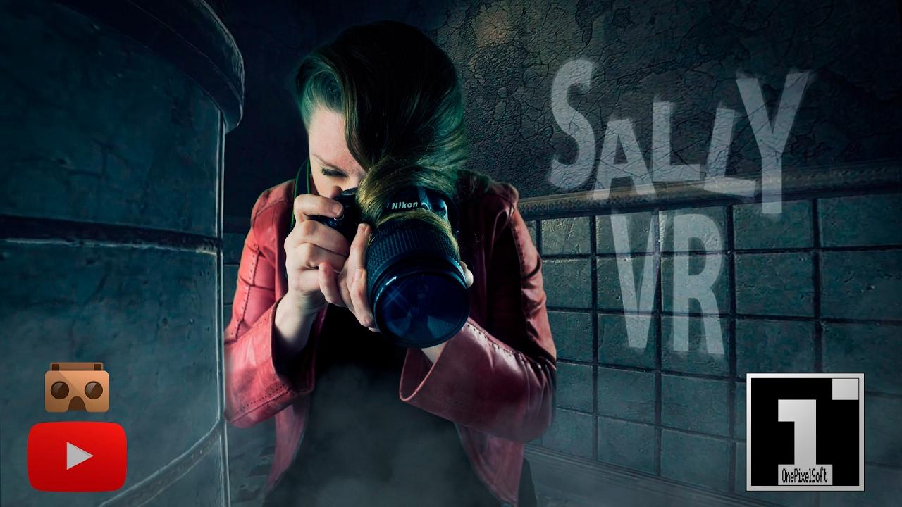 Sally VR (Virtual Reality 4K)