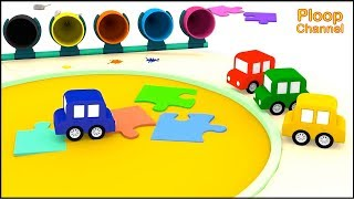 Cartoon Cars - SEA of SAND! - Cartoons for Children - Children's Animation Videos for kids