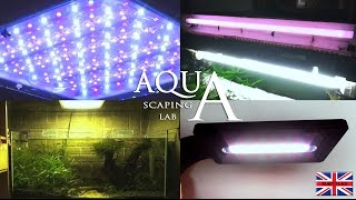 Aquascaping Lab - Aquarium Lighting Freshwater, Neon Fluorescent Lamp And Led Lights