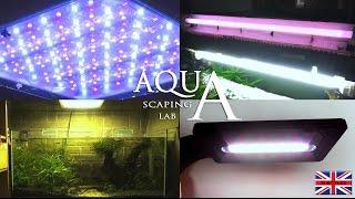 Aquascaping Lab - Aquarium Lighting Freshwater, Neon Fluorescent Lamp And Led Lights