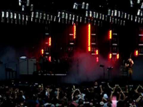 Nine Inch Nails: TDS and Wish Santa Barbara 2009