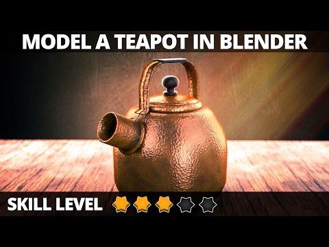 Blender tutorial: Teapot