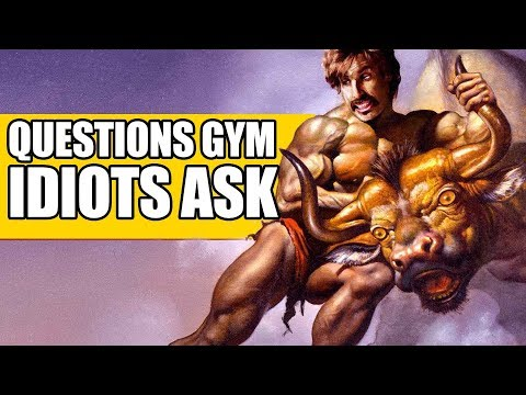 5 Questions Only Gym Bros Ask