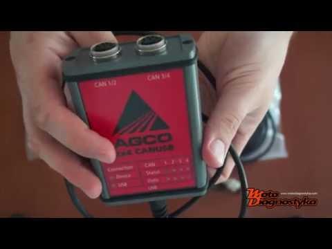 AGCO DIAGNOSTIC KIT - CANUSB - Electronic Diagnostic Tool FenDias WinTest