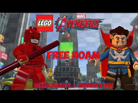 LEGO Marvel's Avengers (3DS) - FREE Roam & Giveaway Winners: