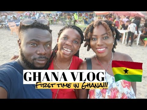 GHANA VLOG 2018!!!/ SONS SURPRISE THEIR MUM AFTER 8 YEARS / ACCRA & TEMA TAKEOVER 🇬🇭🇬🇭