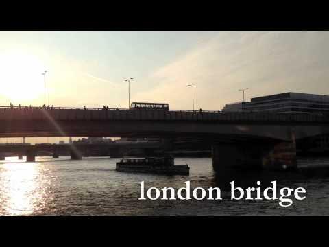 Walking Thames Path in London