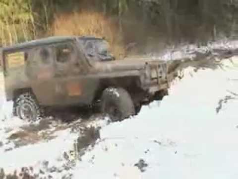 Обдирка шины ГАЗ-66 - YouTube
