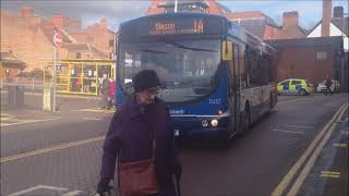 (HD) Buses In Chester 18/02/2014