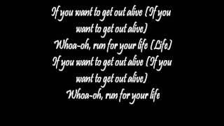 Three days grace - Get out alive (lyrics)