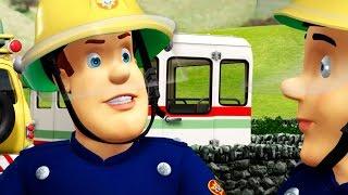 Strażak Sam -  Samolocik w ogniu - 1 godzina |  Bajki dla dzieci po polsku