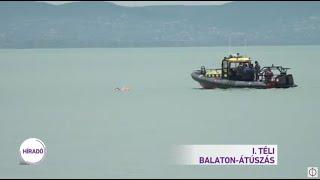 I. Téli Balaton-átúszás