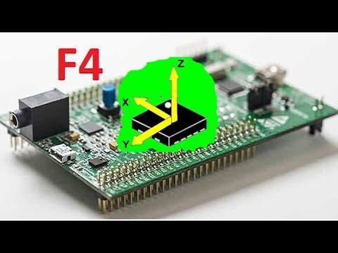 Stm32F4 Accelerometer Data Read ( SPI + USART DMA ) - VN29