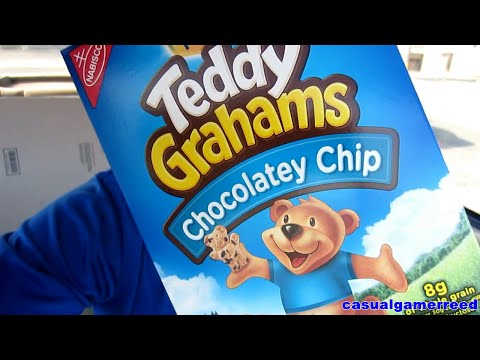 Reed Reviews Teddy Grahams Chocolate Chip