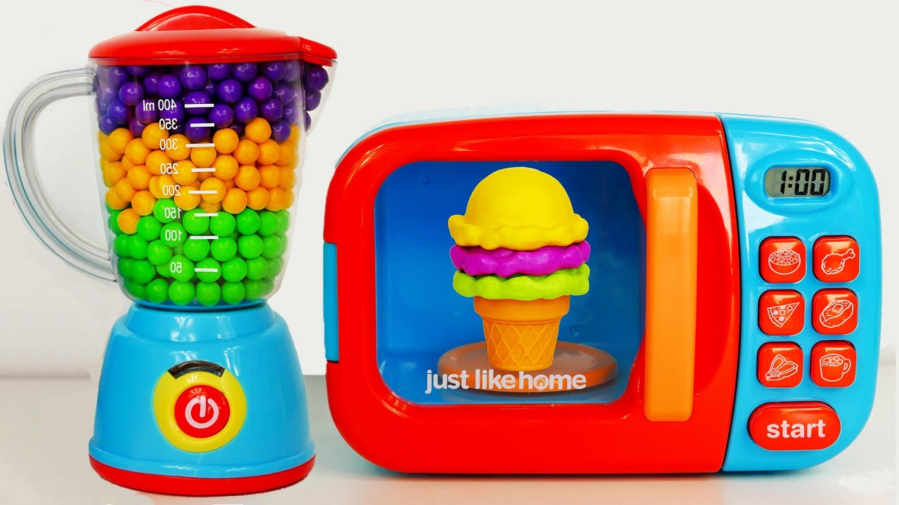 Microwave And Ice Cream Cone Just Like Home Blender And