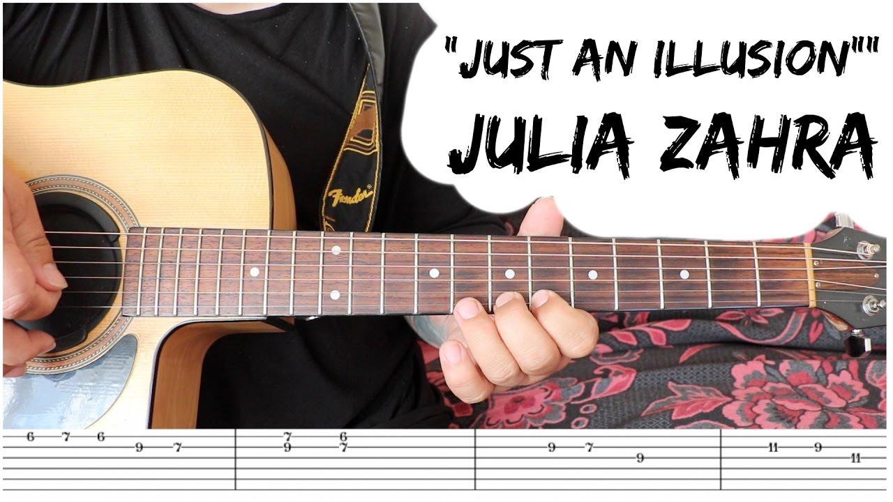 julia-zahra-just-an-illusion-guitar-tutorial-natpicking