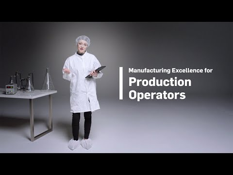 Manufacturing Excellence for Production Operators