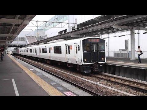 JR九州 817系3000番台電車+813系...
