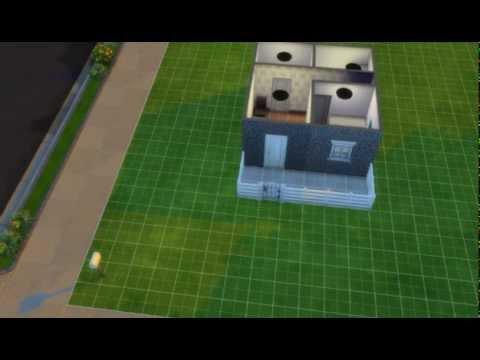 Como crear una casa peque a y barata en los sims 4 youtube for Como disenar una casa pequena