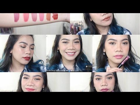 goban-cosmetics-swatches-&-review-|-liquid-lipstick-lokal-|-jihan-putri