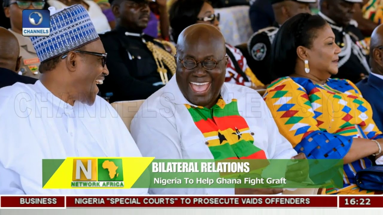 Nigeria To Help Ghana Fight Corruption |Network Africa|