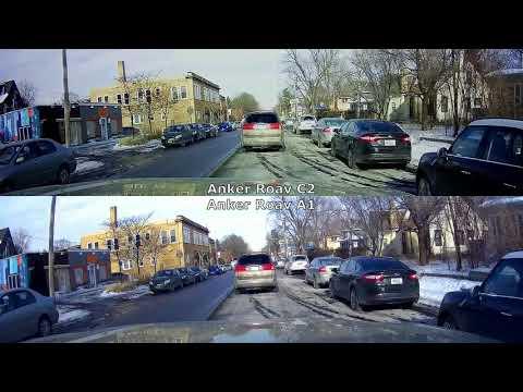 Anker Roav A1 vs. C2 [1080p, No Audio, Day]