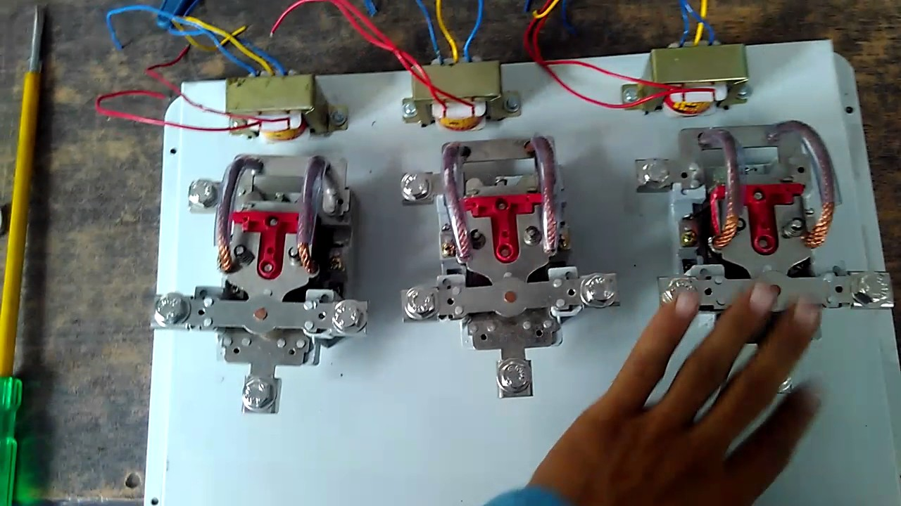 Automatic Phase Changer Part 1 Youtube