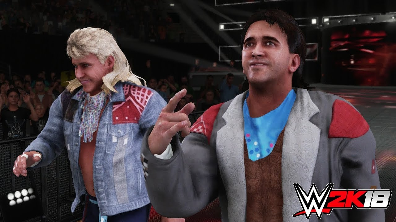 WWE2K18 - ROCK AND ROLL EXPRESS AND THE MIDNIGHT …