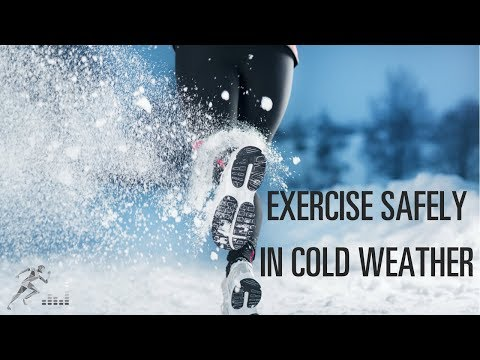 Tips for safe training in cold weather