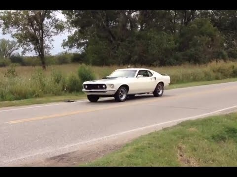 1969 Mustang Fastback Flyby