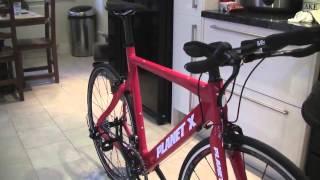 Planet X Stealth Time Trial Triathlon Bike Rival Red Frame