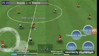 матч Россия против Франции в игре лига мира Часть 1